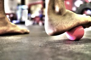 foot roll- how to get fit like a dancer blog article Marcin Raczynski