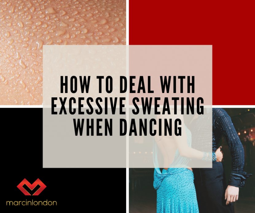 excessive sweating when dancing blog article by marcin raczynski