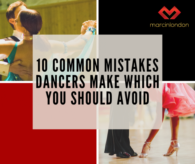 dancers mistakes to avoid blog article by marcin raczynski
