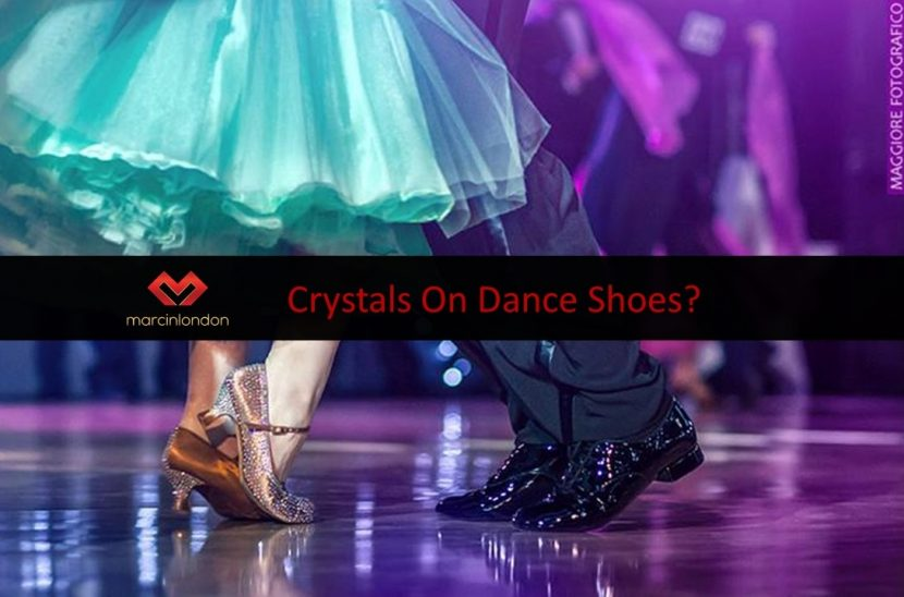 Swarovski crystals on dance shoes? blog article by Marcin Raczynski