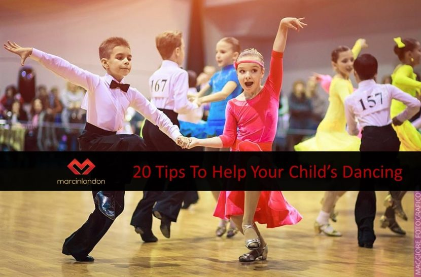 How can I help my child be the best dancer they can be? blog article by marcin london