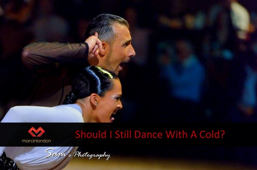 Dance practice with a cold blog article by Marcin Raczynski