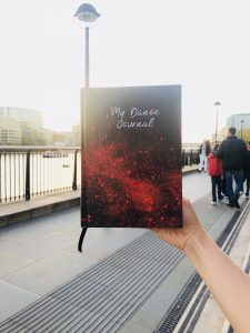 my dance journal and dance diary by marcinlondon