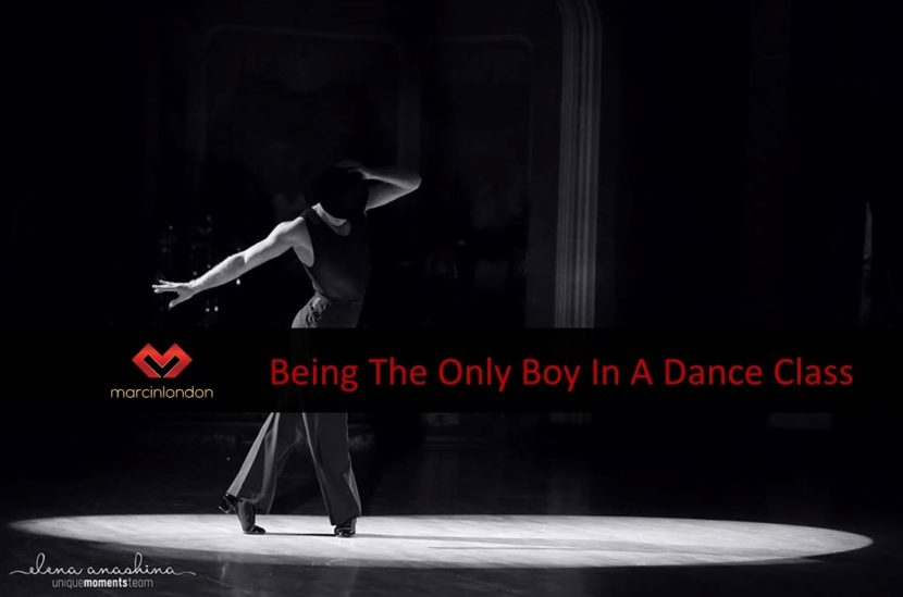 Being the only boy in a dance class blog article by marcinlondon