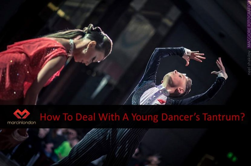How to deal with young kid tantrums at a dance competition blog article by marcinlondon marcin raczynski