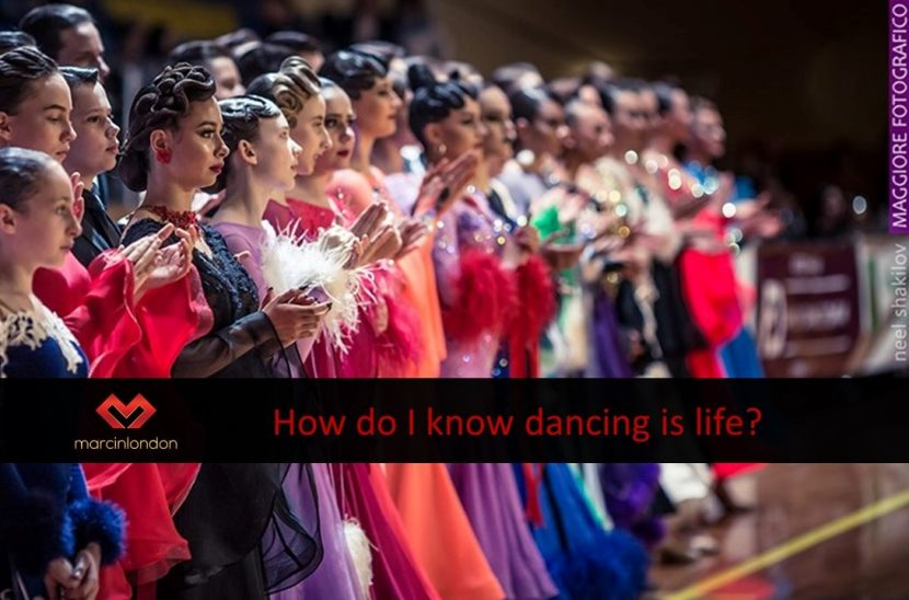 how do I know dancing is life blog article by marcin raczynski