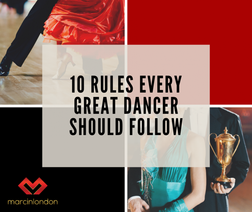 rules to be a great dancer blog article marcin raczynski