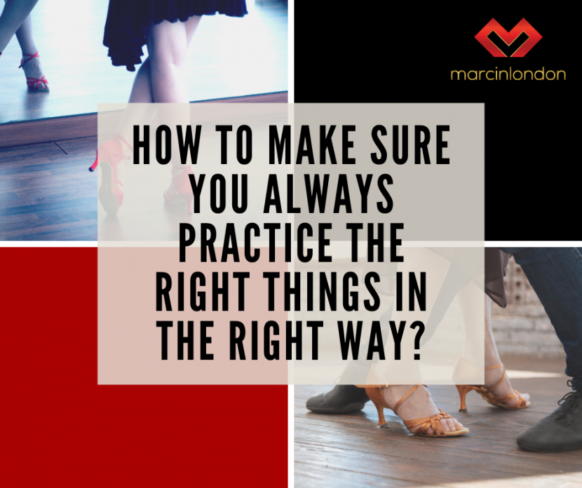 dance practice the right things blog article marcin raczynski